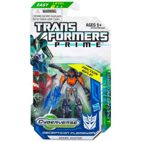 Transformers Prime Cyberverse Legion Class 2 012 Decepticon Flamewar Friction Rifle Box Package Front