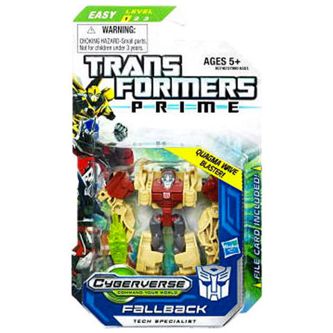 Transformers Prime Cyberverse Legion Class 2 013 Fallback Tech Specialist quagma wave blaster Box Package Front