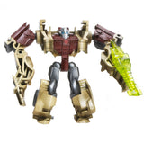 Transformers Prime Cyberverse Legion Class 2 013 Fallback Tech Specialist quagma wave blaster Robot Toy Stock Photo