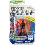 Transformers Prime Cyberverse Legion Class 2 015 Knock Out Weapons Specialist Shockblade Box Package Front