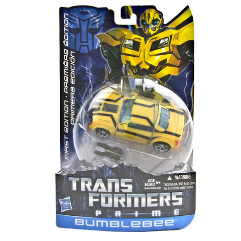 Transformers Prime First Edition Deluxe 001 Bumblebee Multilingual Canada Box Front