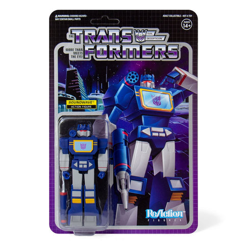 Super 7 Transformers G1 Reaction Soundwave Box Package