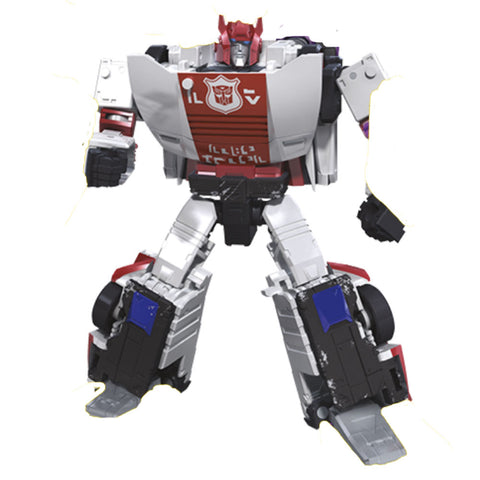 Transformers Siege WFC-S Red Alert - Deluxe