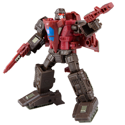 Transformers War for Cybertron Siege Deluxe Duocon Skytread Flywheels Robot