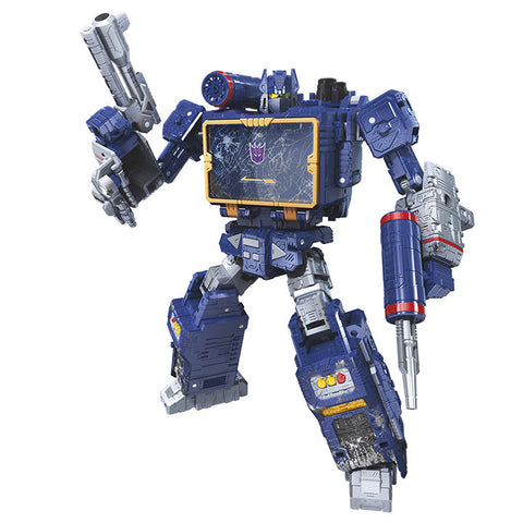 Transformers War For Cybertron Siege WFC-S25 Voyager class Soundwave Robot render