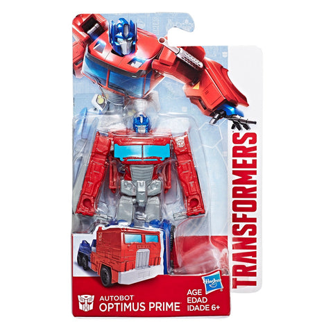 Transformers Authentics Optimus Prime Legion Packaging