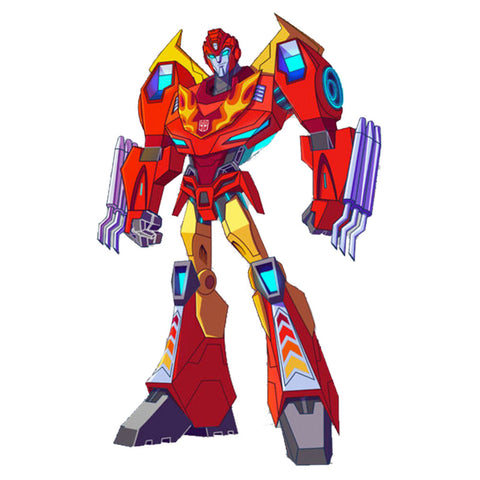 Transformers Cyberverse Deluxe Hot Rod Artwork Placeholder