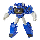 Transformers Cyberverse Warrior class decepticon Soundwave robot toy