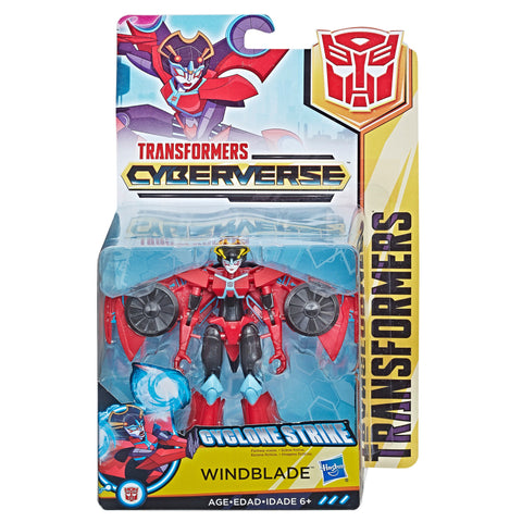 Transformers Cyberverse Warrior Class Windblade Box Packaging
