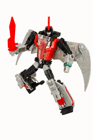 Transformers Generations Selects POTP Power of the Primes Red Swoop Deluxe Robot Sword