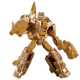 Transformers Deluxe Golden Lagoon Gold Starscream Toy Robo mode