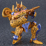 Transformers Masterpiece MP-34 Beast War Cheetus Cheetor Reissue TakaraTomy Robot crouch