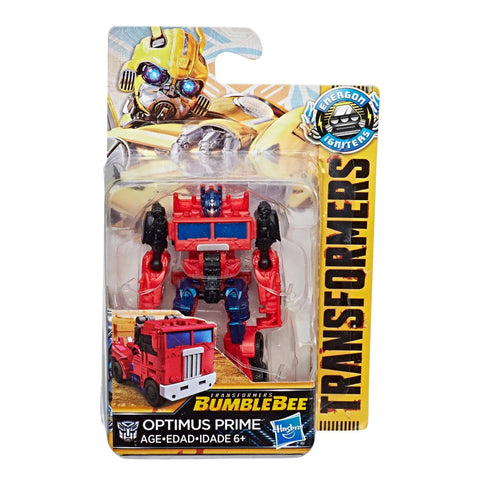 Transformers: Bumblebee Movie Energon Igniters Speed Series Optimus Prime Box Package