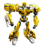 Transformers Prime First Edition 001 Deluxe Bumblebee Hasbro USA Robot Toy Stock Photo