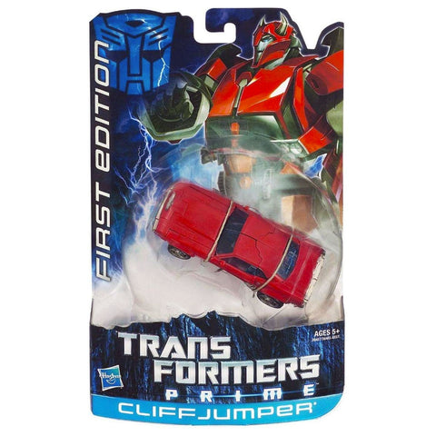 Transformers Prime First Edition 004 Deluxe Cliffjumper Box Package Front