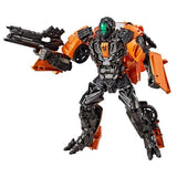 Transformers Movie Studio Series 17 Deluxe Shadow Raider Orange Lockdown Robot