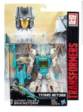 Transformers Titans Return Autobot Teslor & Brainstorm Deluxe Walgreens exclusive Package box