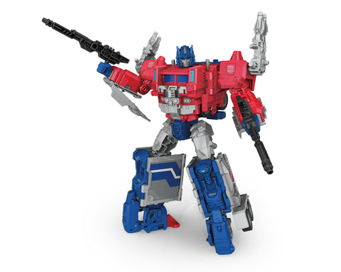 Transformers Titans Return Leader Magnus Prime Optimus Robot Render