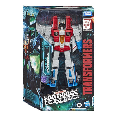 Transformers War For Cybertron: Earthrise WFC-E9 Voyager Starscream Box Package