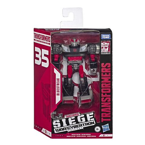 Transformers 35th Anniversary WFC-S64 Siege Deluxe Bluestreak Box Package