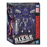 Transformers War Cybertron Siege WFC-S14 Leader Decepticon Shockwave Box Package