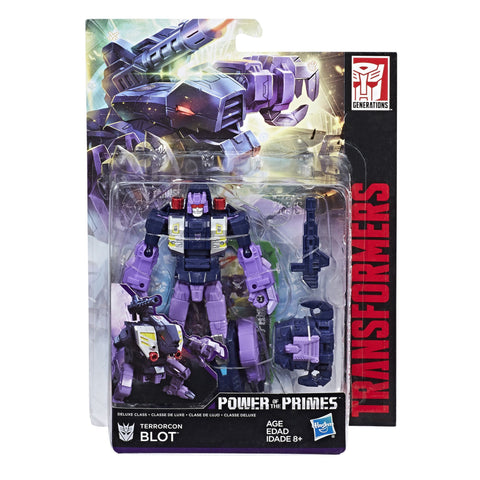Transformers Power of the Primes Deluxe Terrorcon Blot Abominus Limb Packaging Box