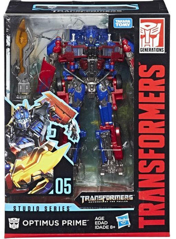 Transformers Movie Studio Series 05 Voyager Optimus Prime Box Package MISB