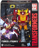 Transformers Power of the Primes POTP Leader Evolution Rodimus Prime Box Package