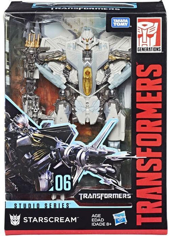 Transformers Movie Studio Series 06 Starscream voyager box package front