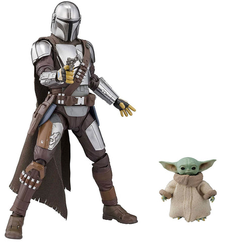 Bandai S.H. Figuarts Star Wars Mandalorian The Child Baby Yoda Action complete bundle toys