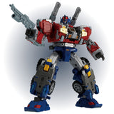 TakaraTomy Diaclone Reborn Reboot DA-65 Battle Convoy V-MAX Japan Robot Toy attack pose