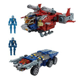 TakaraTomy Diaclone Reborn Reboot DA-65 Battle Convoy V-MAX Japan helicopter rover toy pilot accessories