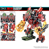 DNA Design DK-20 ss combiner upgrade kits 3rd third party add-on construction parts devvy standing robot toy