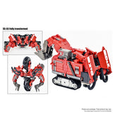 DNA Design DK-20 ss combiner upgrade kits 3rd third party add-on construction parts devvy ss55 shovel vehicle toy