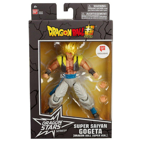 Bandai Dragon Stars Series Dragon Ball Super Saiyan Gogeta Walgreens Exclusive Box Package