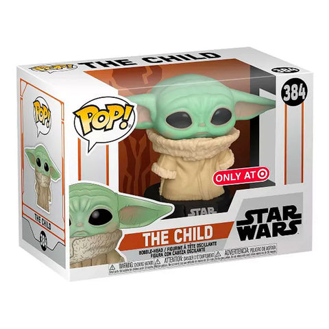 Funko Pop! 384 Star Wars The Child Target Exclusive box package render