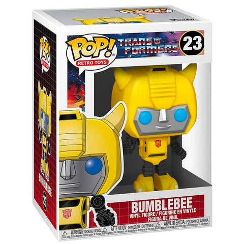 Funko Pop! Retro Toys 23 Transformers G1 Bumblebee box package render
