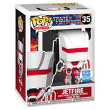 Funko Pop! Retro Troys 35 Transformers G1 Jetfire Exclusive box package render