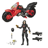 G.I. Joe Classified Series 13 Baroness with Cobra C.O.I.L. vehicle giftset accessories