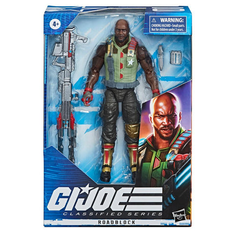 G.I. Joe Classified Series 6-inch Roadblock Box Package Front