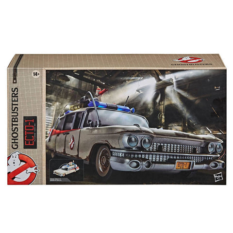 Hasbro Ghostbusters Plasma Series Ecto-1 vehicle target exclusive box package front