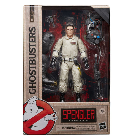Ghostbusters Plasma Series Egon Spengler 6-inch Action Figure Movie 1 Box Package Front
