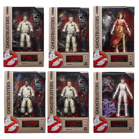 Hasbro Ghostbusters Plasma Series Wave 1 complete set of 6 Toys box package front