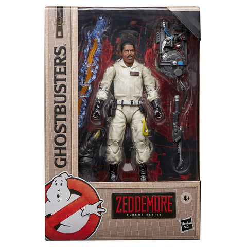 Ghostbusters Plasma Series Winston Zeddemore 6-inch Action Figure Movie 1 Box Package Front