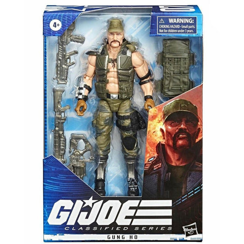 Hasbro G.I. Joe Classified Series 07 Gung Ho Box Package Front