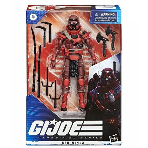 Hasbro G.I. Joe Classified Series 08 Red Ninja Box Package Front