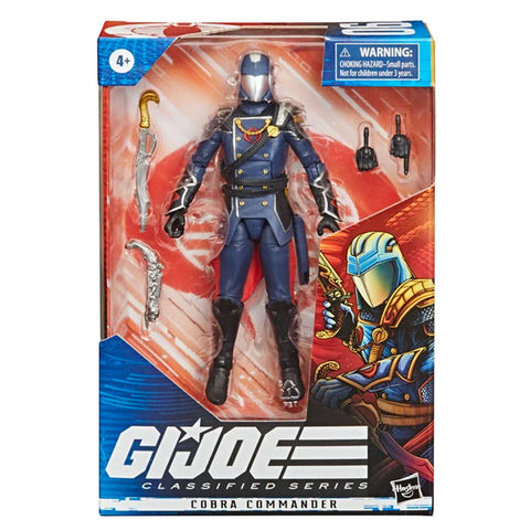 G.I. Joe Classified Series 6-inch Cobra Commander Villain Box Package Front