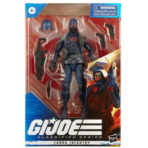 Hasbro G.I. Joe Classified Series Cobra Infantry box package front