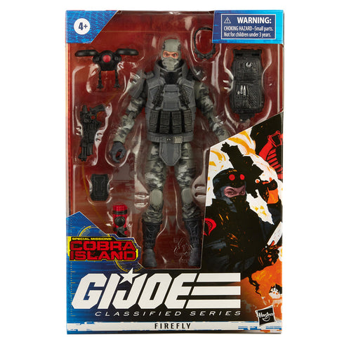 Hasbro G.I. Joe Classified Series Cobra Island Firefly Target Exclusive box package front