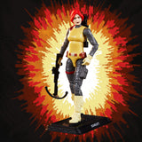 Hasbro G.I. Joe Retro Scarlett Walmart Exclusive action figure toy pose